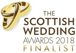 FINALIST BADGE - The 6th Official Scottish Wedding Awards 2018