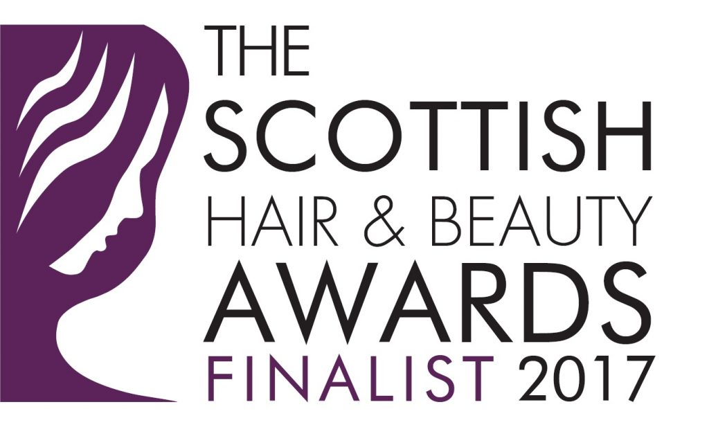 Finalist Badge - The 7th Offical Scottish Hair & Beauty Awards 2017