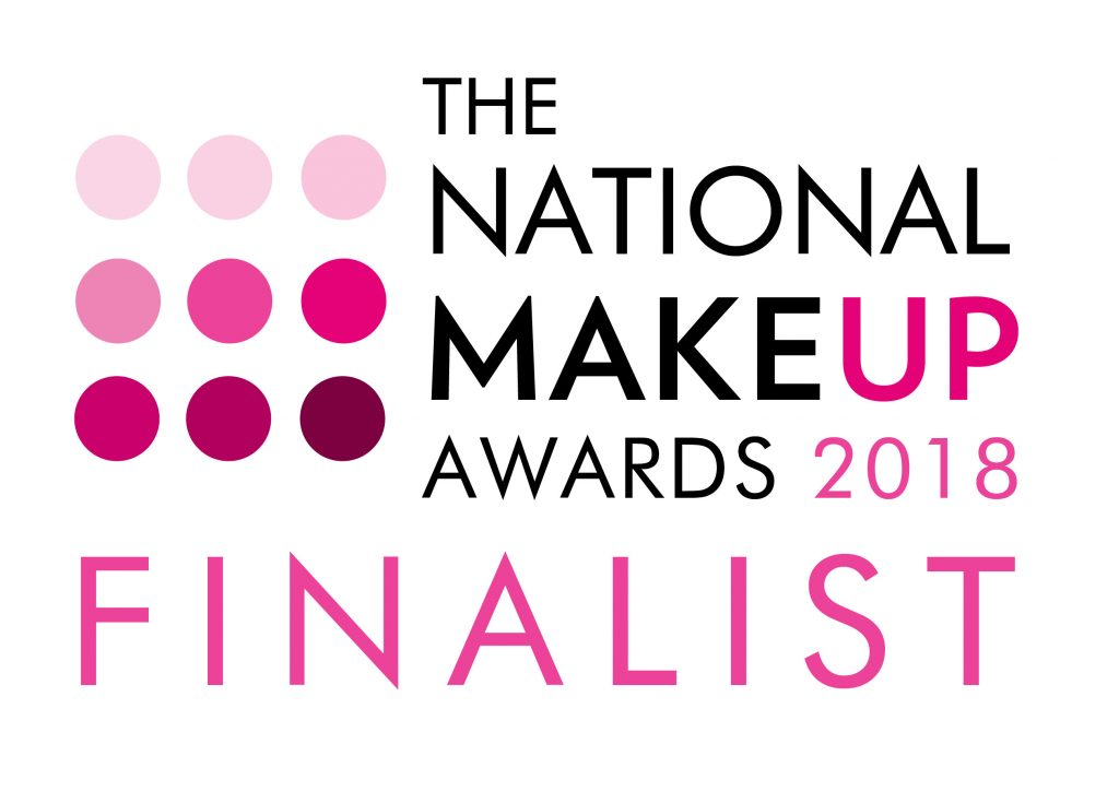 Finalist Logo - The National Makeup Awards 2018-01